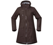 Mantel 'Hella Lady Coat' dunkelbraun
