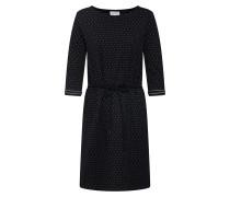 Kleid 'Cora Dots' schwarz / weiß