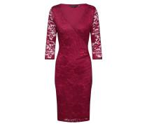 Kleid 'wrap' rot