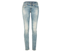 'Midge Saddle' Regular Fit Jeans blau