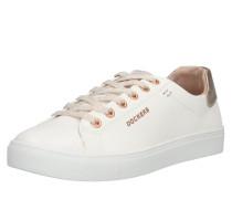 Sneaker gold / rosé / weiß