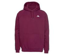 Sweatshirt grau / lila