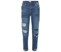 Boyfriend Jeans Damen blue denim