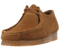 Schuhe 'Wallabee' cognac