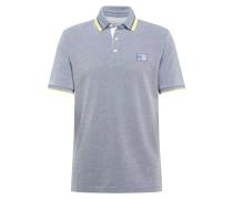 Shirt '8150' rauchblau / gelb