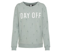 Sweatshirt 'day Off' mint