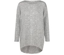 Pullover 'melia' graumeliert