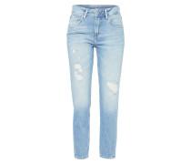 Jeans 'violet' blue denim