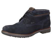 Stiefelette 'Encanio' dunkelblau / braun