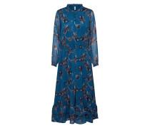 Kleid 'bess 3' petrol / mischfarben