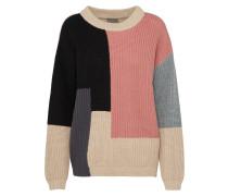 Pullover 'two Ls2' beige / altrosa / schwarz