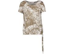 T-Shirt 1/2 Arm 1/2 Arm Shirt mit Farndruck
