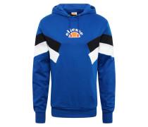 Sweatshirt 'salvadi' blau / schwarz / weiß