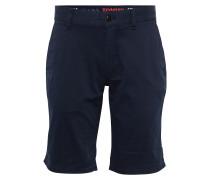 Shorts im Chino-Stil 'Freddy II' blau