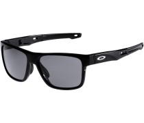 'Corssrange' Sonnenbrille schwarz