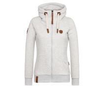 Zipped Jacket grau