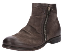 Leder-Boots 'clash' kastanienbraun