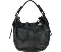 Handtasche 'Lara' schwarz