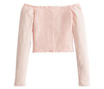Shirt 'xm18-Ls Smocked Ots' rosé