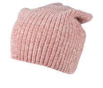 Mütze 'chenille Beanie' rosa