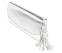 Clutch 'Dana' silber