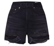 Shorts 'Justine' black denim