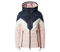 Jacke grau / rosa