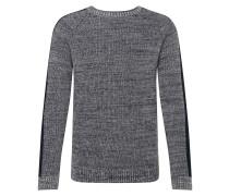 Pullover 'payson' dunkelblau / grau