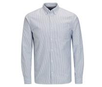 Oxford-Web-Langarmhemd