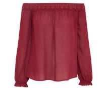 Off-Shoulder Bluse 'ac1129' burgunder
