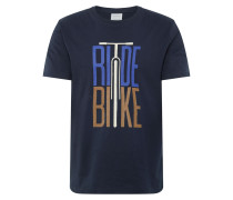 Shirt 'aado Ride Bike' navy