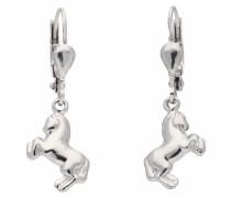 Paar Ohrhänger 'Pferd' silber