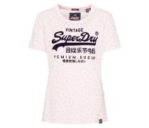 Shirts 'P Goods Shimmer AOP Entry' rosé