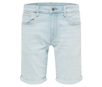 Jeans '3301 Slim 1\2' blue denim