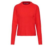 Pullover 'onlGALENA L/S Pullover Knt' rot