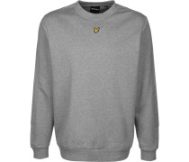 Sweater ' Fabric Mix Crew ' grau