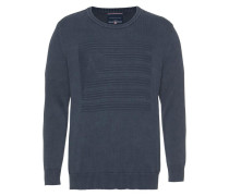 Strickpullover blue denim