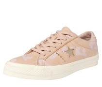 Sneaker 'One Star Ox' beige / gold / rosa