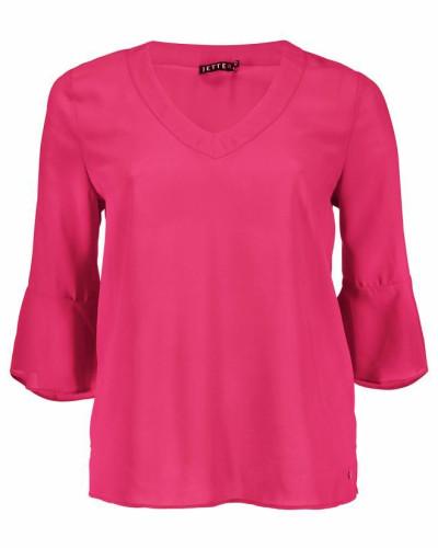 Georgettebluse pink