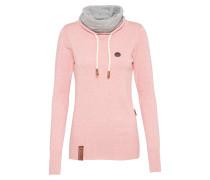 Pullover 'Geh Weg' pink