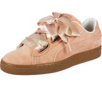 Sneaker 'Basket Heart Corduroy' pastellorange