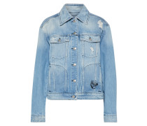 Jeansjacke 'acadia' blue denim