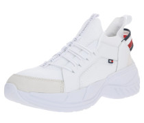 Sneaker 'chunky' weiß