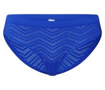 Slip 'Santorin' blau / royalblau