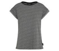 Shirt 'Cube' rauchgrau / schwarz