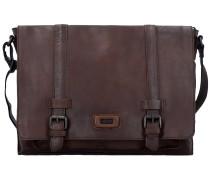 Belt Messenger Bag Tasche Leder 38 cm Laptopfach