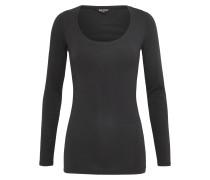 Shirt 'basic' schwarz