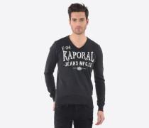 Pullover 'Lokia Black' schwarz / weiß