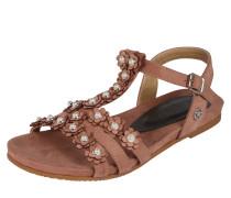 Sandale 'Points' braun