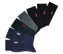 Basic-Socken marine / grau / schwarz